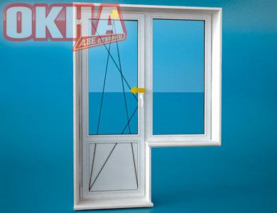 Окна в домах 504д серии.